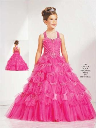 Little girls ball gown dresses