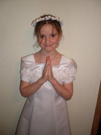 Girls Dress on Dresses   First Holy Communion Dress   Girl First Communion Dress