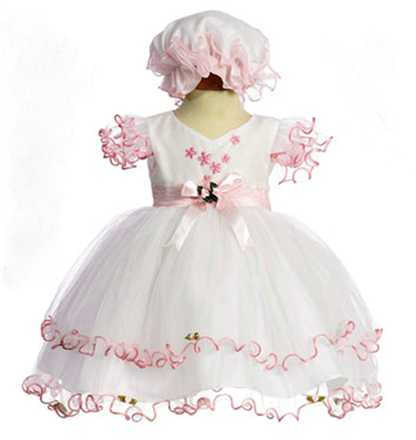 pink pageant dresses for baby girls