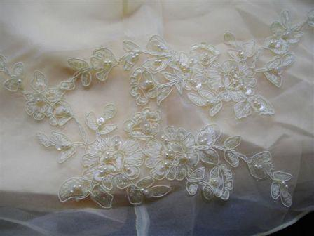 Beaded appliques