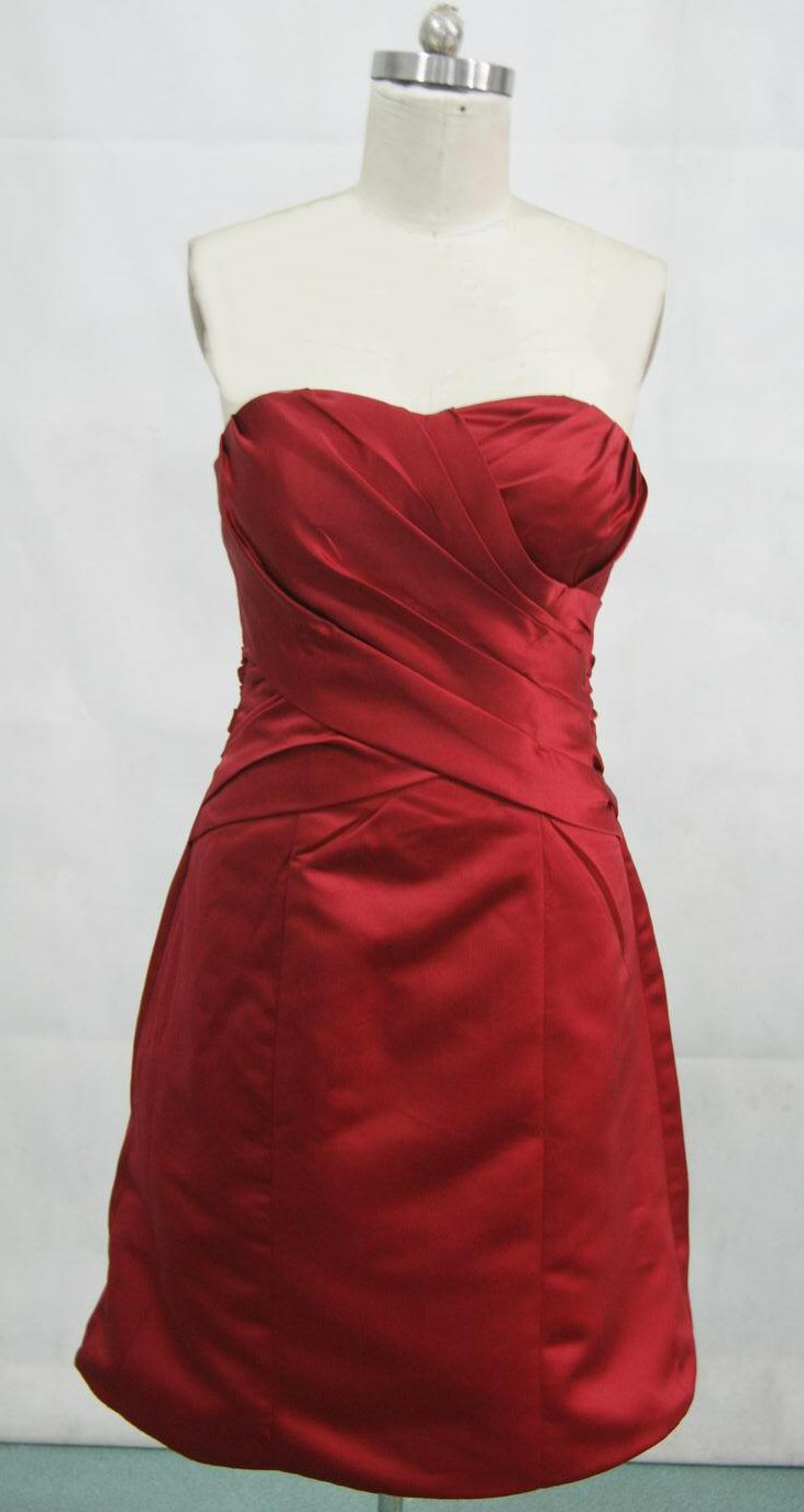 Apple Red Wedding Dress