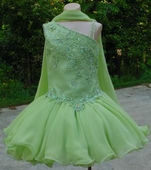 Green Cocktail Dress on 290 Pageant Dress Custom Dress Color Choices