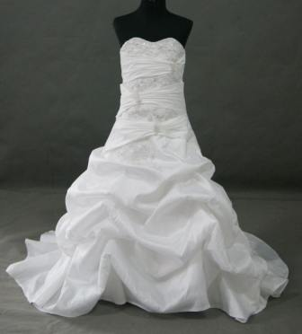 Miniature bride ball gown