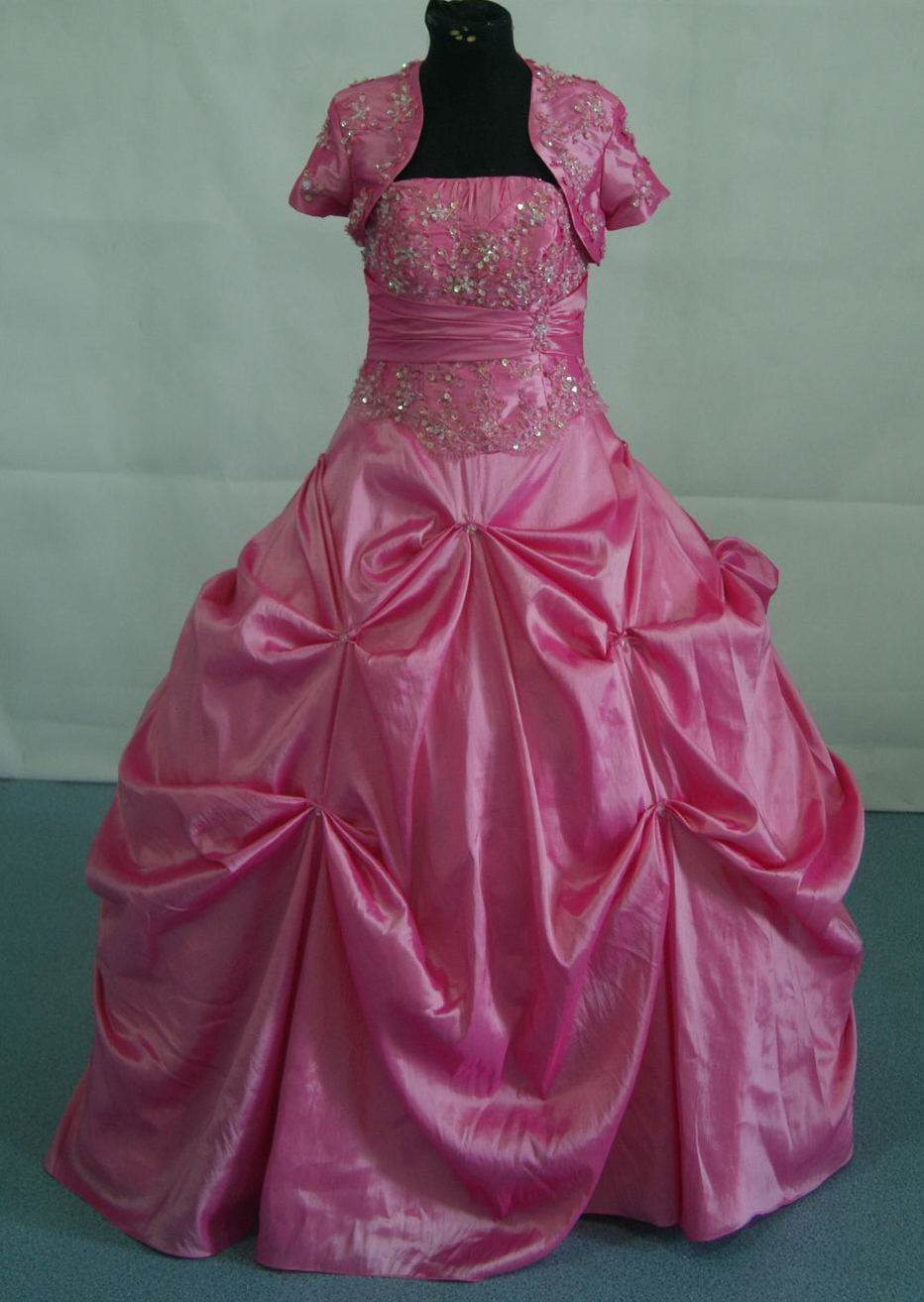 Royal blue quinceanera ball gown.