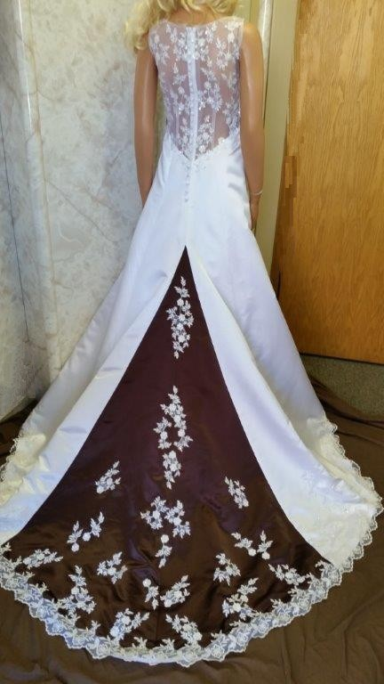 White Chocolate Wedding Dress