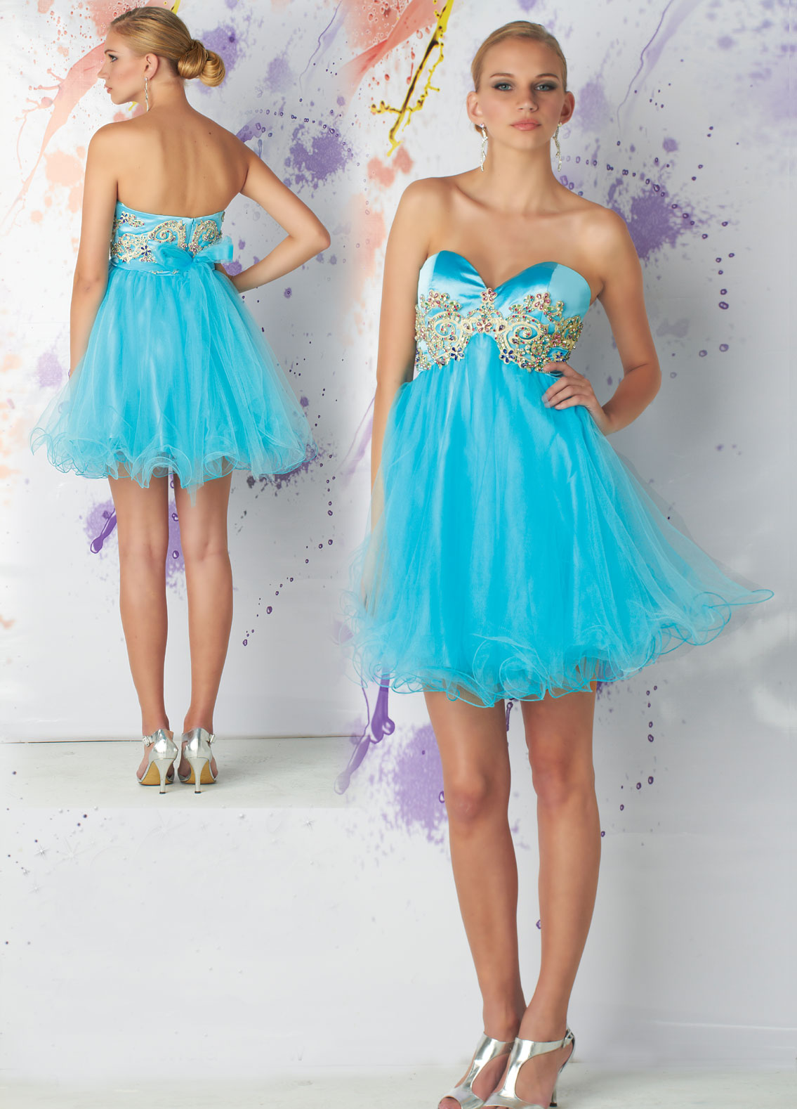 Short Prom dresses - chic short prom dresses.