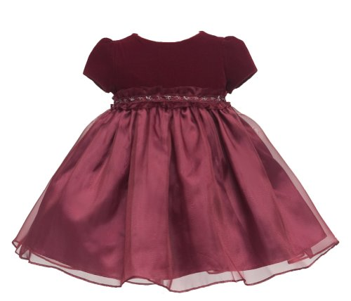 Christmas dress red christmas burgundy stretchvelvet redvelvet dress