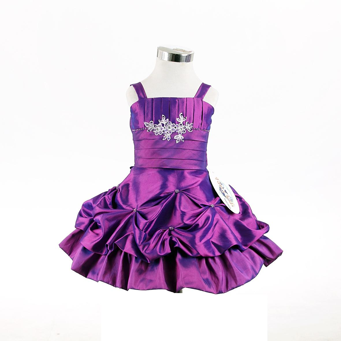 purple baby dresses
