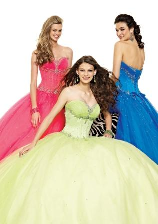sweetheart prom gown