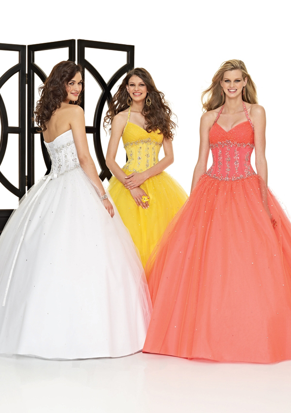 Women's Halter ball gown