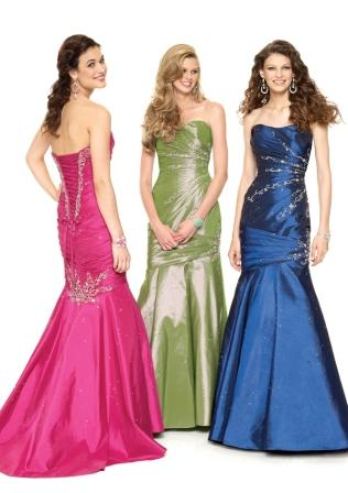 Ladies and teens mermaid gown
