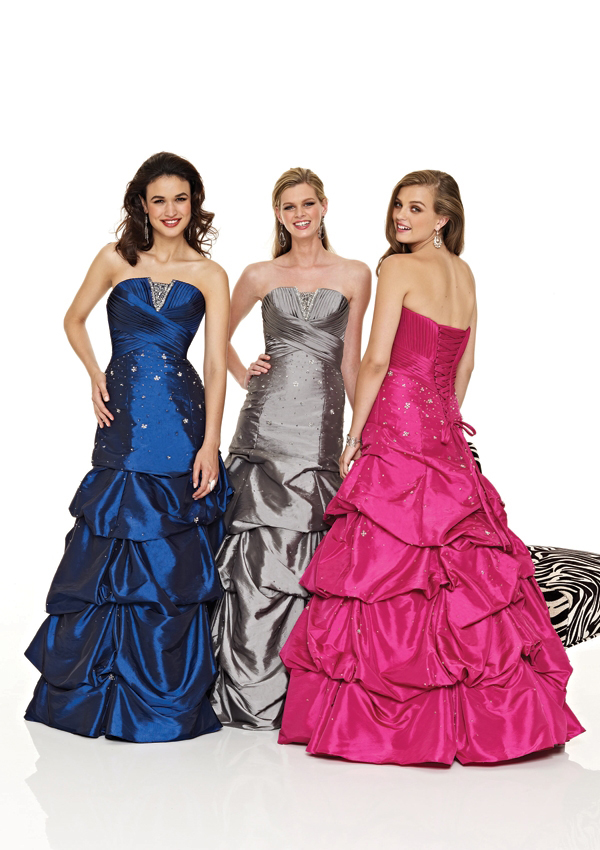 Short Prom Dress with Pickups