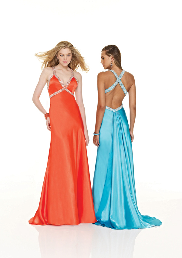 Long Halter dress with low cut back