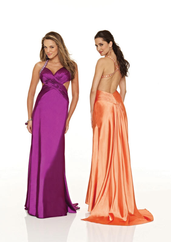 sexy halter evening dress