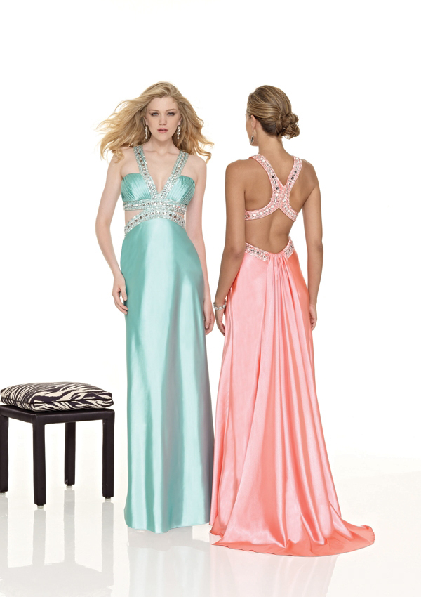 Sleek and Sexy Prom/Evening Gowns with cut outs