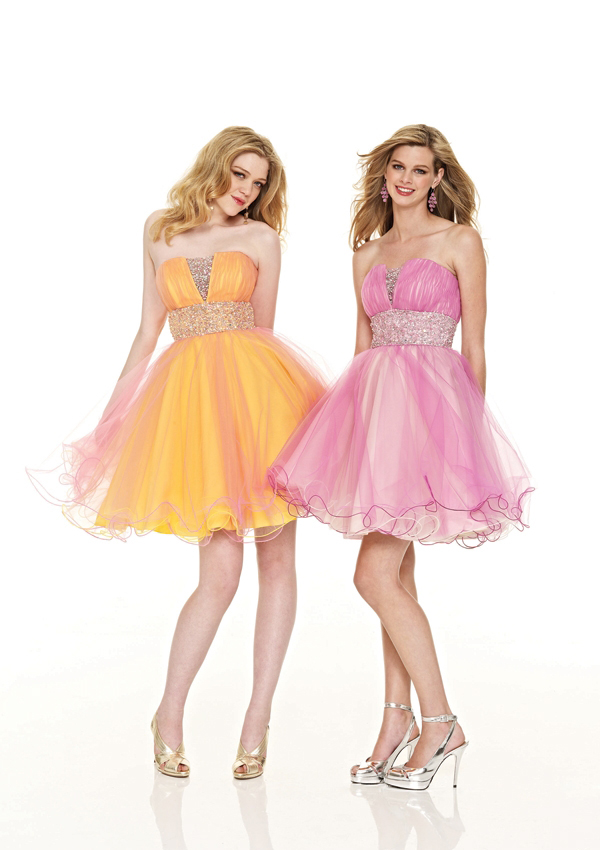 full skirt short prom dresses