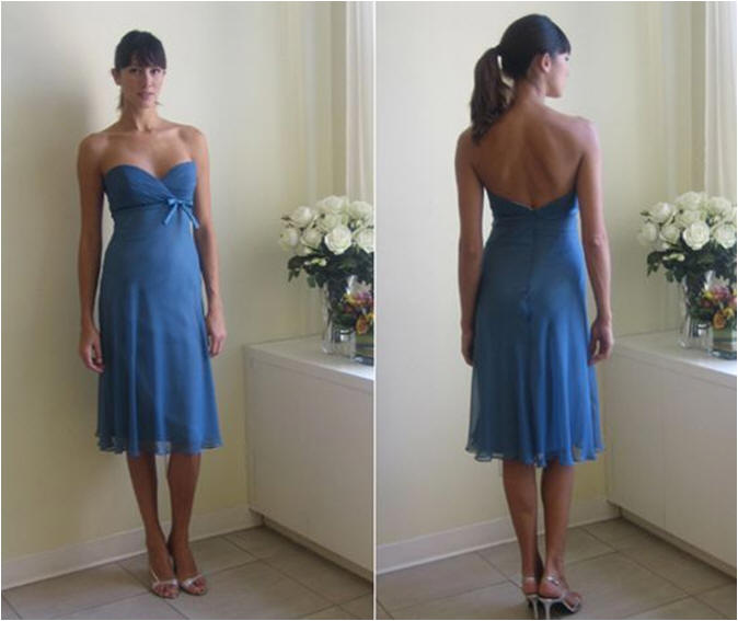 inexpensive royal blue bridesmaid dresses