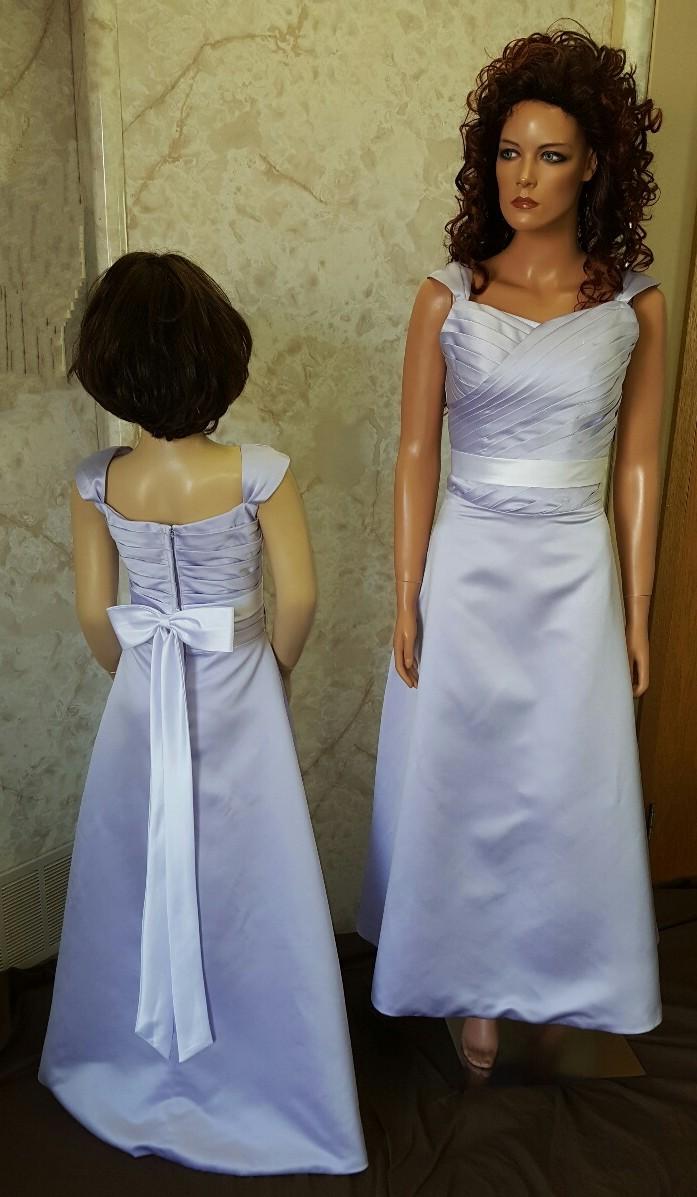 Platinum Flower Girl Dresses