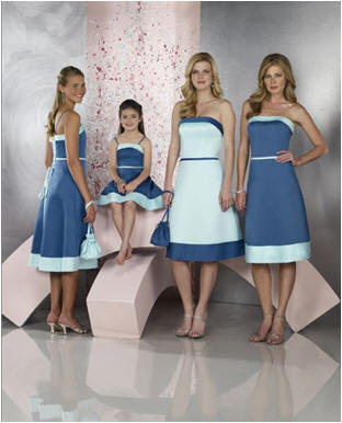 cheap junior bridesmaid dress
