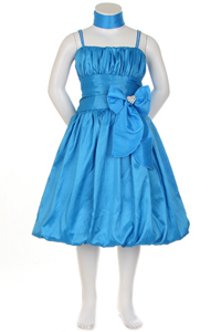 turquoise taffeta dress clearance