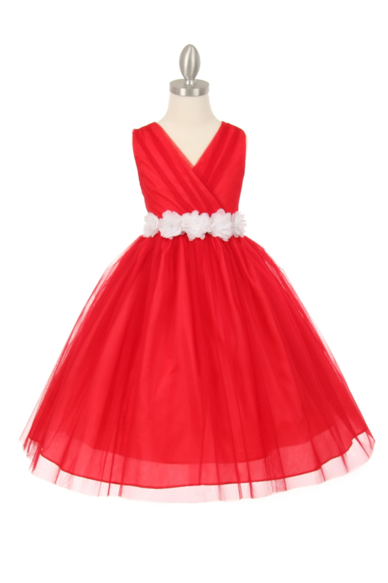Red Dresses For Girls
