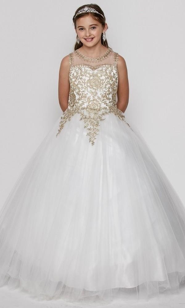 c1757a5102ac off white junior bridesmaid dresses ...