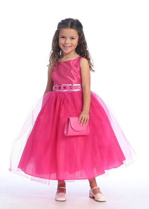 fushia Girls Special Occasion Dresses