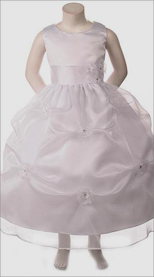 Flower Girl Communion Pageant Pick Up Dress