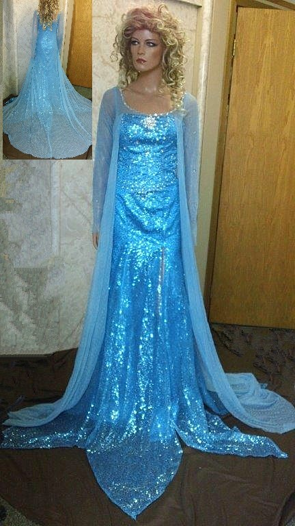 Else from Frozen theater dress