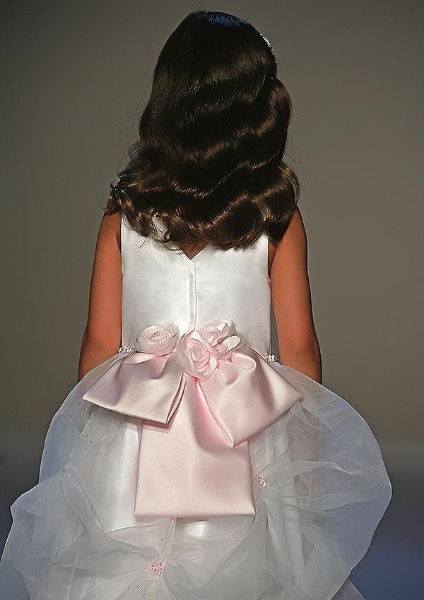 fancy flower girl dresses