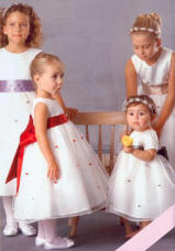 flower bud flower girl dresses