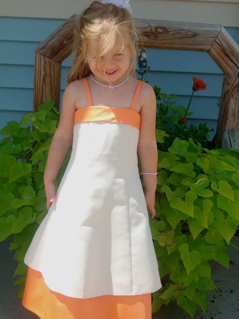 Cheap flower girl dresses sale orange flower girl dresses cheap izmirmasajfo Images