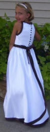 black and white halter top dress