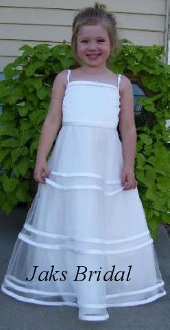 fc1646b2cae ... custom flower girl dresses · white spaghetti strap dress ...