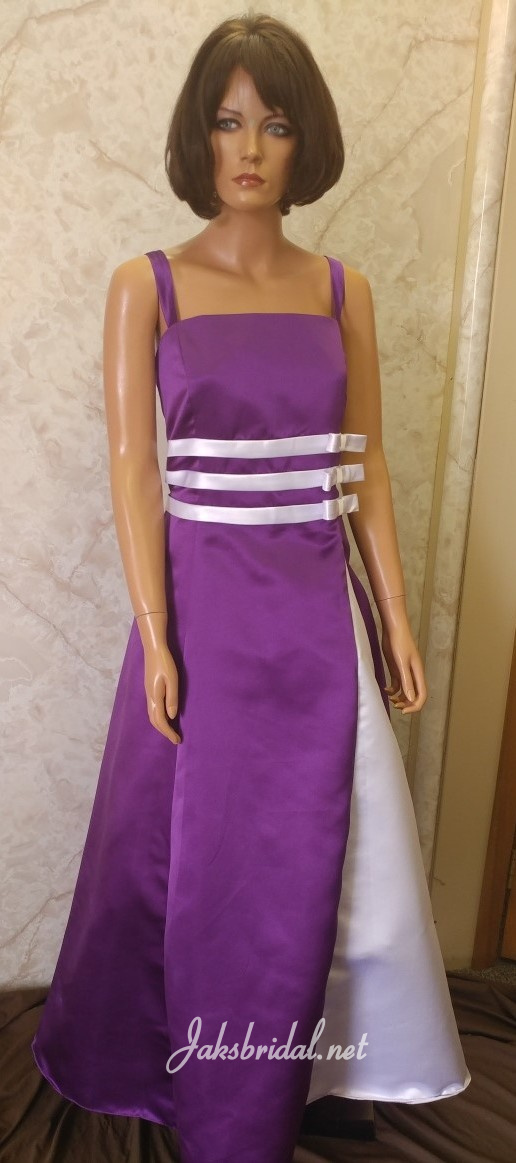Custom Junior Bridesmaid dresses.