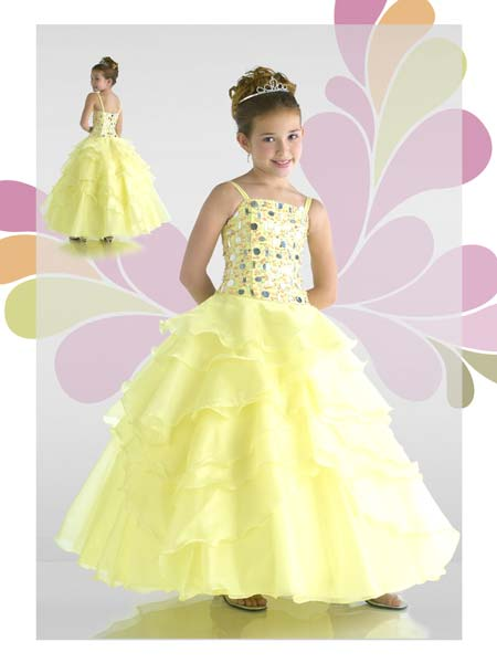 beautiful toddler pageant dresses
