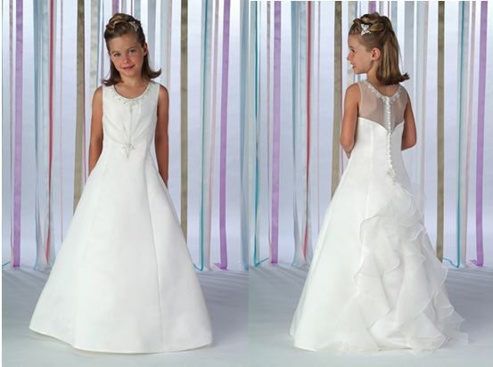 flower girl pickup dresses