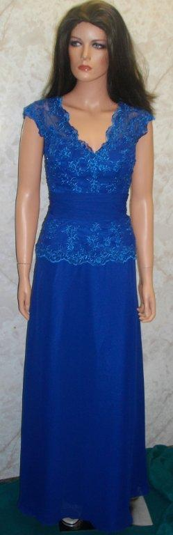Royal blue mothers dress