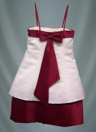 apple red jr bridesmaid dress