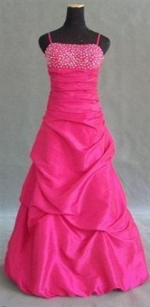 hot pink pick up dress