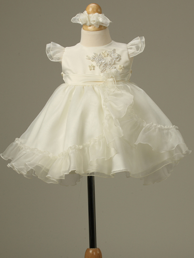 ivory infant girl dresses