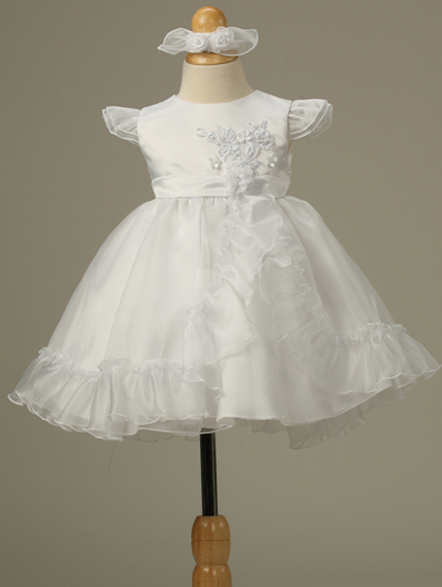 Flower girl dresses holiday formal fancy christmas party dress