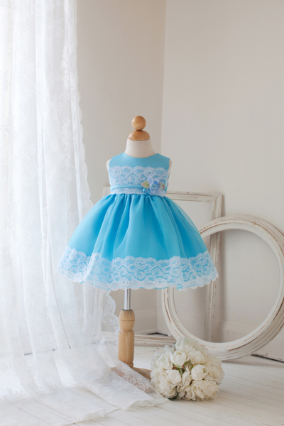 Easter dresses for little girls.