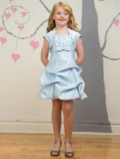 baby blue easter dress