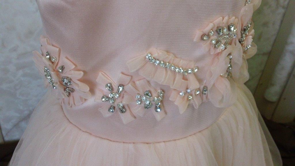 Ivory mermaid wedding dress for Matching wedding and flower girl dresses