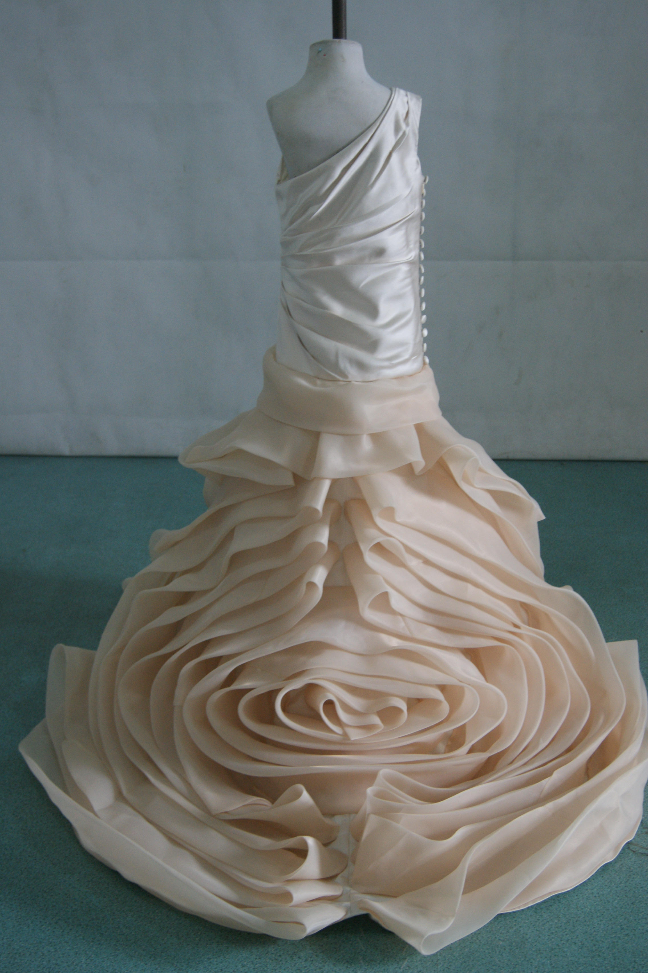 Greek Goddess Dress Wedding Gowns And Matching Miniature