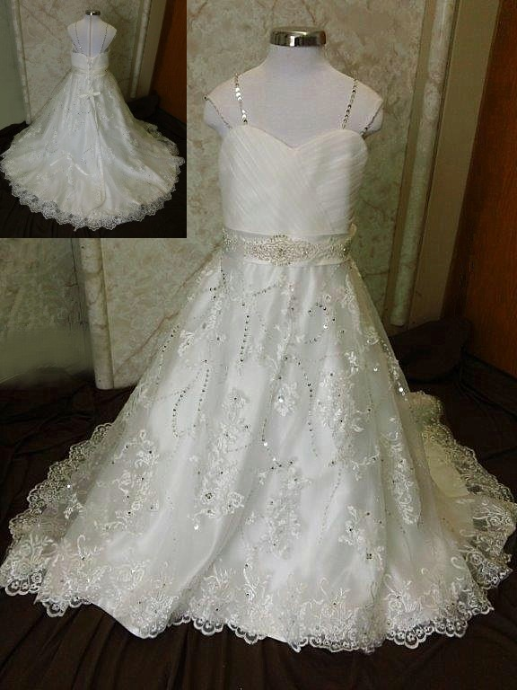 Wedding gowns for little brides.