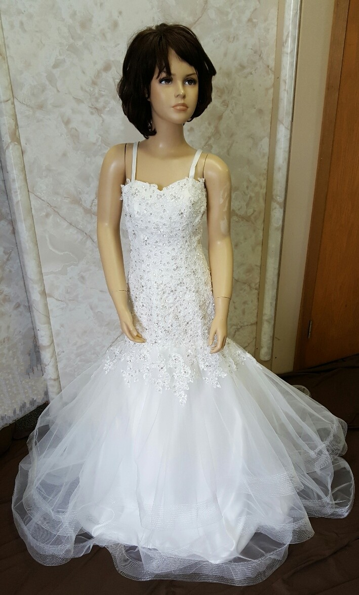 250a6829b ... fit and flare flower girl dress