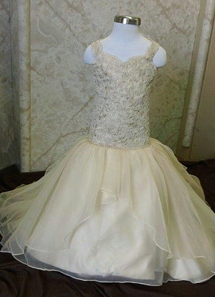Fit and Flare Flower Girl Dresses