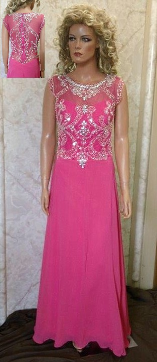 31fe7763a9 pink chiffon mother of the bride dresses